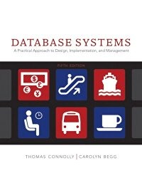 Database Systems: A Practical Approach to Design, Implementation and Management (5th Edition)