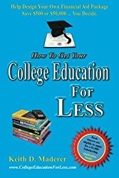 How to Get Your College Education For Less: Help Design Your Own Financial Aid Package