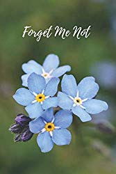 Forget Me Not: Internet Password Logbook Organizer with Alphabetical Tabs, Large Print for Easy Password Keeping